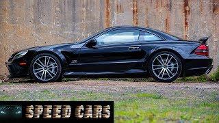 R230 Mercedes SL65 AMG V12 Brutal Acceleration Burnout And Exhaust Sound