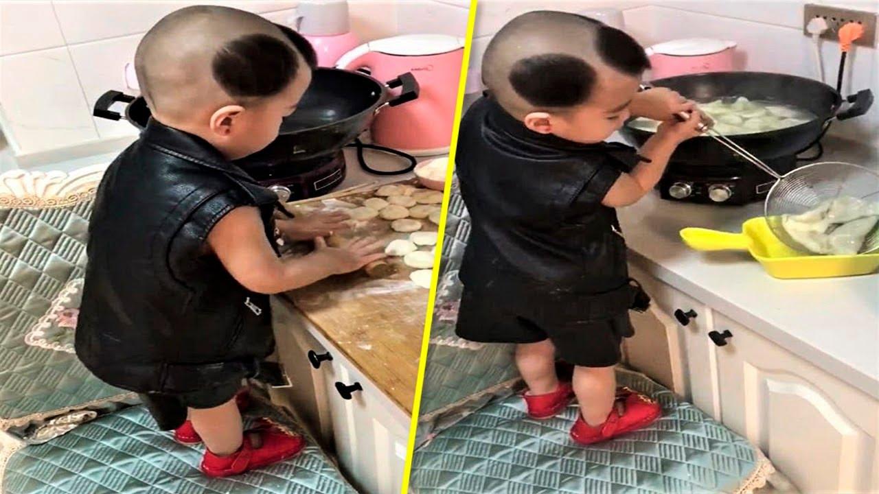 Этот 3-х Летний Ребенок Легко Может Приготовить Себе Завтрак