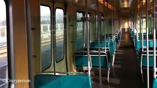 RET Metro Rit Schiedam Centrum - Schenkel Rotterdam (met de Type T) op metrolijn A naar Binnenhof !!