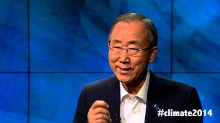 #Climate2014 questions for UN Secretary-General Ban Ki-moon - Weibo
