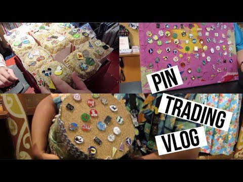 PIN TRADING AT DISNEY! | Magic Kingdom & Resorts