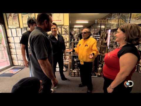 George Barris Lends a Hand  Rods N' Wheels