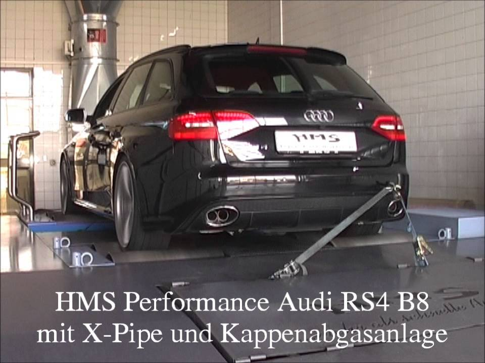 Soundfile Hms Performance Audi Rs4 B8 Mit Xpipe Und
