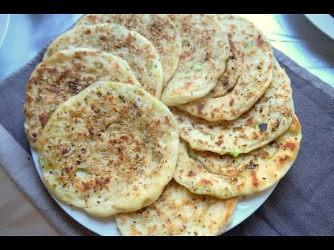 Msemen Green Onion and Sesame Bread Inspired by Chinese Savory Pancakes