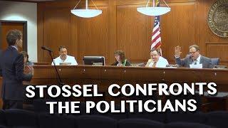 Stossel Confronts Politicians about Corruption Allegations