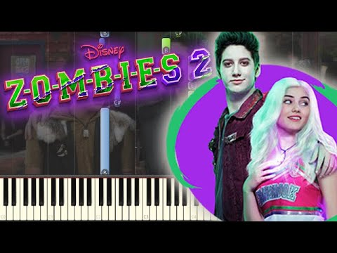 """🎵 Like The Zombies Do (From """"ZOMBIES 2"""") - ZOMBIES 2 [Piano Tutorial]"""