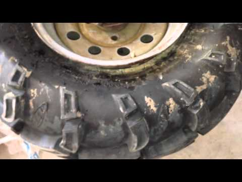 how to stop leaking tire
