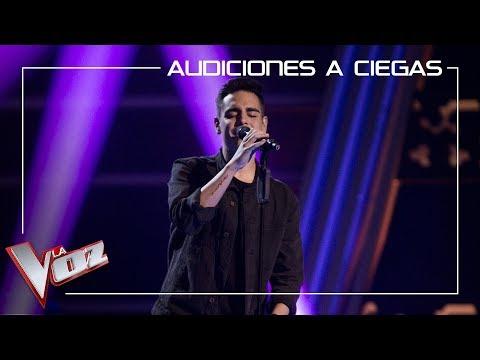 Juanjo García canta 'Y ahora' | Audiciones a ciegas | La Voz Antena 3 2019