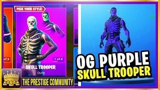 *New* SECRET PURPLE Skulltrooper Skin, How to UNLOCK It & More!.. (Fortnite Glitches, Update 6.02)