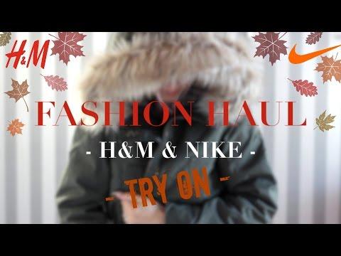 XL H&M & NIKE 🍁 ONLINE SHOPPING HAUL & LOOKBOOK 🍂 HERBST/WINTER - Fashion, Sneakers, Nagellacke...