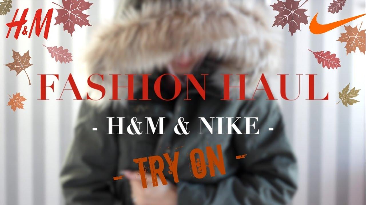XL H&M & NIKE 🍁 ONLINE SHOPPING HAUL & LOOKBOOK 🍂 HERBST/WINTER ...