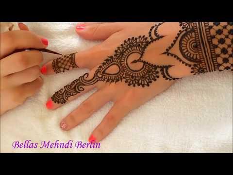 Bellas Mehndi Berlin - Henna Tutorial