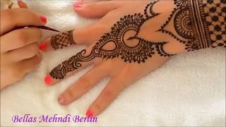 bellas mehndi berlin henna tutorial