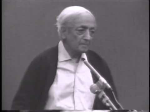 J. Krishnamurti - Saanen 1980 - Public Talk 7 - Is there anything sacred in life?