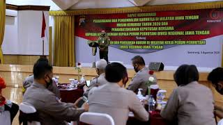 Cegah Karhutla, Polda Jateng dan Perum Perhutani Gelar Rapat Koordinasi