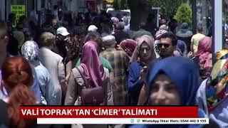 Vali Toprak'tan 'CİMER' talimatı
