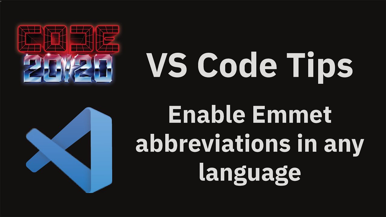 Enable Emmet abbreviations in any language using 'emmet.includeLanguages'