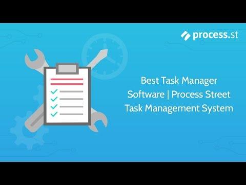 Best Task Manager Software | Process Street Task Management System