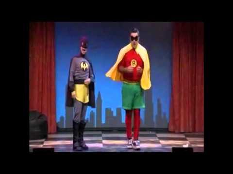 Dominic et Martin Batman et Robine