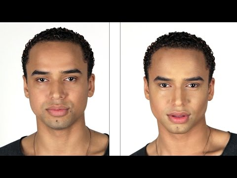 Men Try Contouring For The First Time