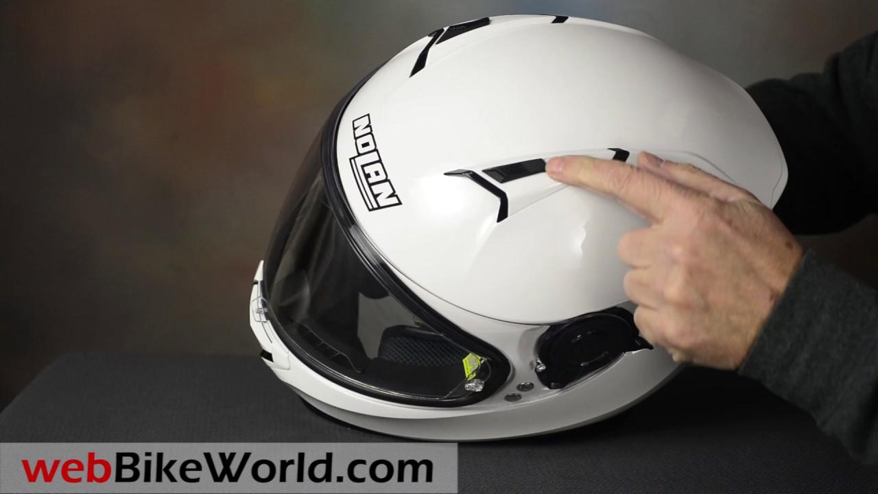 nolan n87 helmet youtube. Black Bedroom Furniture Sets. Home Design Ideas