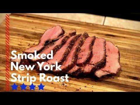 New York Strip Roast on the Pit Barrel Cooker | Strip loin roast recipe