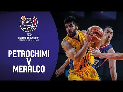 HIGHLIGHTS: Meralco Pilipinas vs. Petrochimi Iran (VIDEO) FIBA Asia Champions Cup 2018 Semis