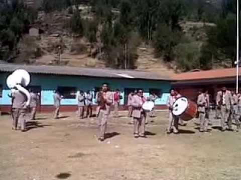 BANDA JAZZ SINFONICA PERU LA OROYA EN OIQUE SAN VICENTE (PAMPAS - TAYACAJA) 2015