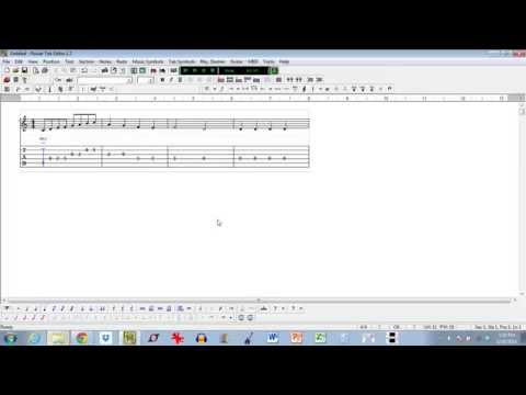How To Compose A Song With Power Tab Editor (Part 1)
