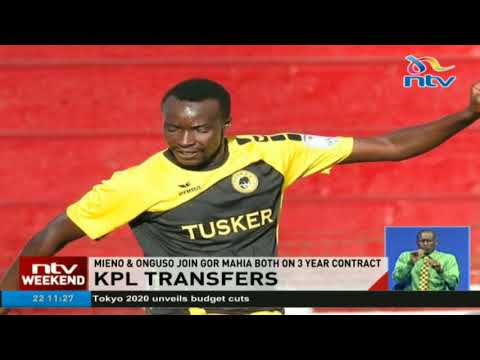 Mieno & Onguso join Gor Mahia both on 3 year contract