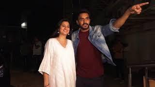 Star cast of upcoming Bollywood romantic drama attends special screening in Mumbai