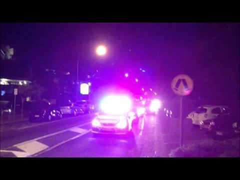 Queensland Ambulance Service ICU Paramedic Unit Arriving at MVA Scene - Noosaville