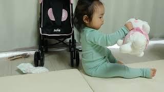 조이 인형유모차 크리스마스 아기장난감 인형장난감
