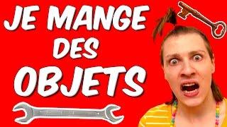 DEGUSTATION D'OBJETS - JE MANGE DES OUTILS !!! NADEGE CANDLE