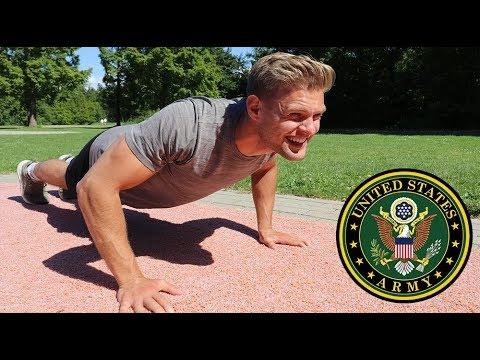 Ik deed de US Army Fitness Test zonder voorbereiding
