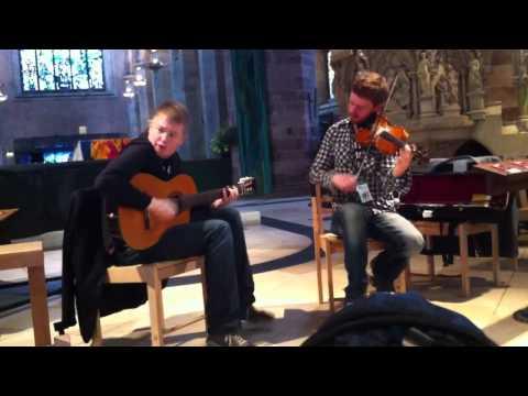Slow Air and Shetland Reels - Live @ St Giles Cathedral, Edinburgh Fringe 2011