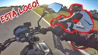 Obs#21 🤤Me tiran TĘRRîBLE finito *CORRIENDO con mi MOTO* a 93 Km/h 🔥