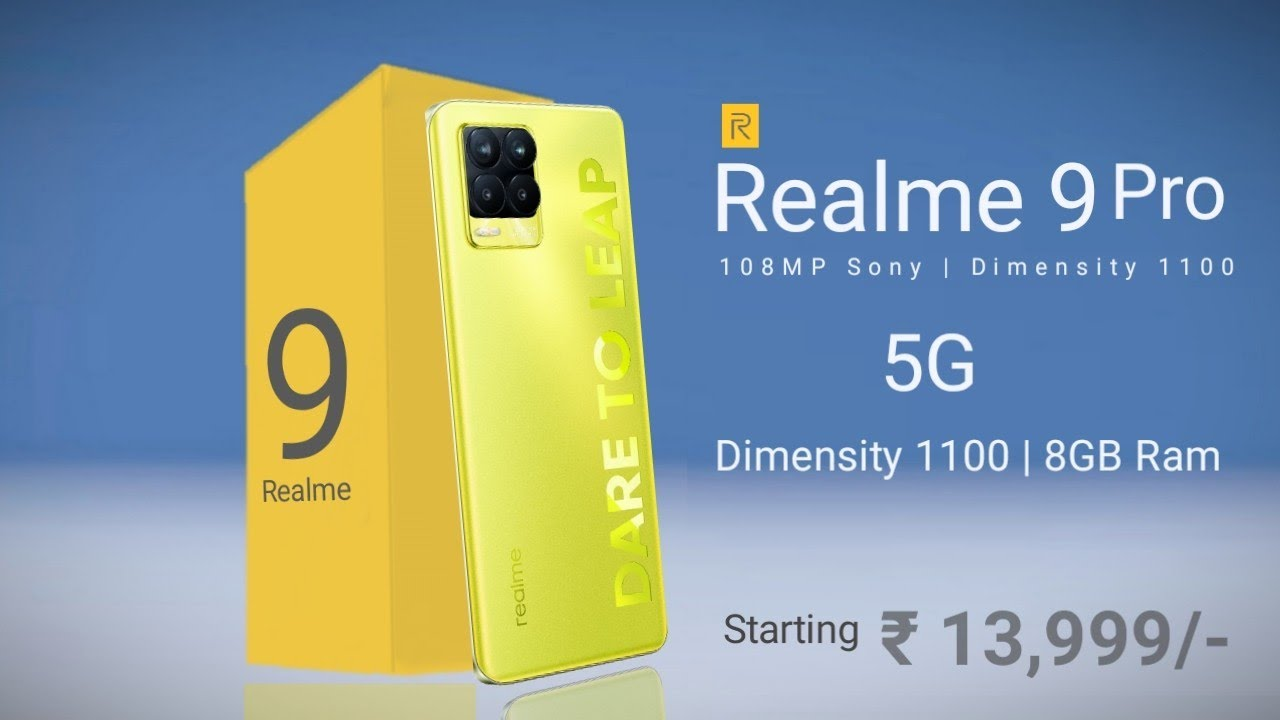 Realme 9 Pro Dual 5G | 108MP SONY Camera, 50W | 120Hz Display, 6000mAh Battery #Realme9pro