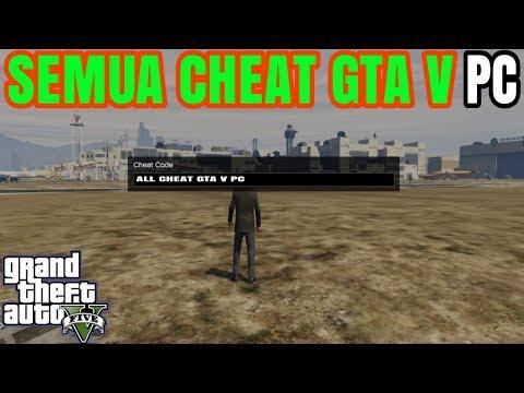GTA 5-ALL CHEAT GTA V VERSI PC|SEMUA CHEAT GTA V