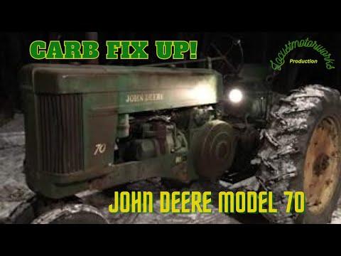 John Deere 2 Cylinder Carb Repair YouTube