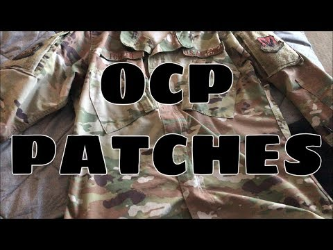 OCP PATCHES!!