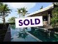 SOLD: Spectacular Absolute Beachfront Villa on the East Coast of Bali