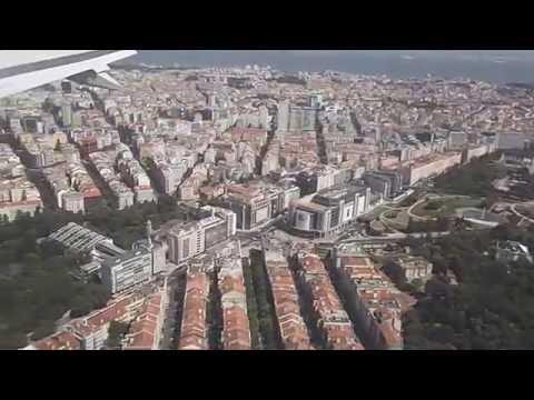 Landing in Lisbon