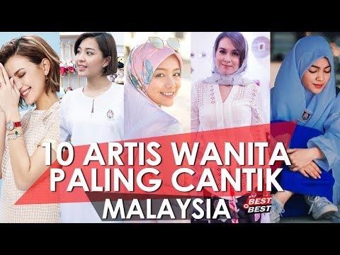 Top 10 Artis Wanita Paling Cantik Di Malaysia 2018