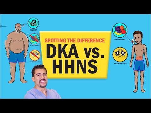 Diabetes L DKA Vs. HHS (HHNS) NCLEX