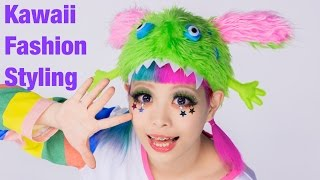 SUPER KAWAII STYLING by Japanese fashion designer Haruka Kurebayashi | 紅林大空可愛いファッション Thumbnail