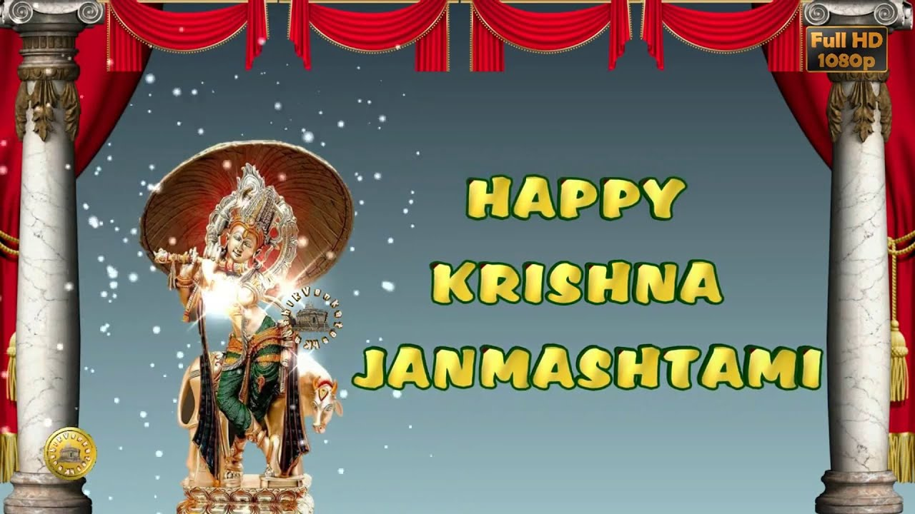 Happy Janmashtamikrishna Janmashtami 2018wisheswhatsapp Video