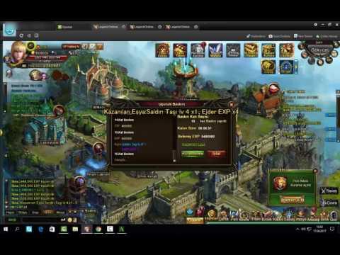 Legend Online (Kader Botu)Windows 10'da çözüm