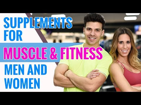 Supplements for Muscle & Fitness Men and Women
