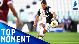 Ronaldo Scores His First Free Kick for Juventus! | Juventus 4-1 Torino | Top Moment | Serie A TIM